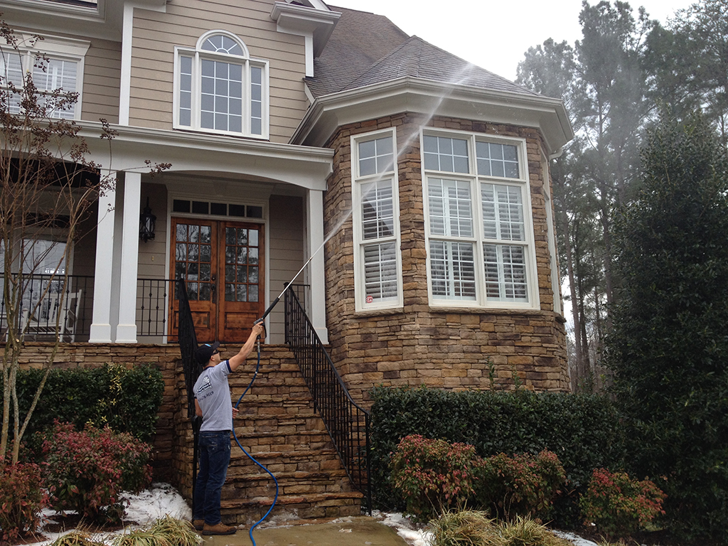 Power washing window cleaning in raleigh nc triangle - Exterior power washing garner nc ...